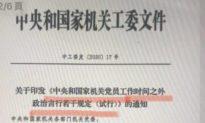 Lộ văn kiện mới của ĐCS Trung Quốc, quy định '18 điều cấm' đối với các đảng viên 