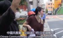 Người mẫu Nhật Bản 'hô lên' trước Đại sứ quán: ĐCSTQ là tế bào ung thư của thế giới!