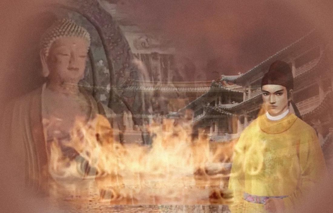 Trụ Vương khinh nhờn Thần Phật, phế bỏ nhã nhạc, còn lệnh cho người sáng tác âm nhạc hủ bại vong quốc cuối cùng bị Vũ Vương đánh bại, tự sát tại lầu Lộc Đài, quốc bại thân vong, cuối cùng chỉ lưu lại lời than thở ngàn thu.