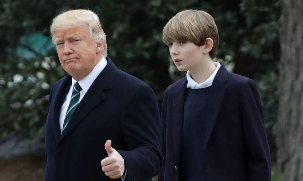 Barron Trump: Cậu quý tử Nhà Trắng đẹp trai tài giỏi được ngợi ca là 'thiên tài máy tính'
