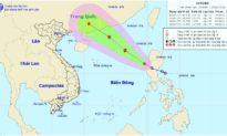 Áp thấp nhiệt đới gây gió giật cấp 9 ở biển Đông, khả năng thành bão vào ngày mai