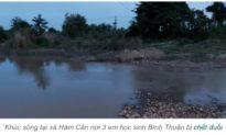 Đi tắm sông hồ, 7 học sinh đuối nước thương tâm