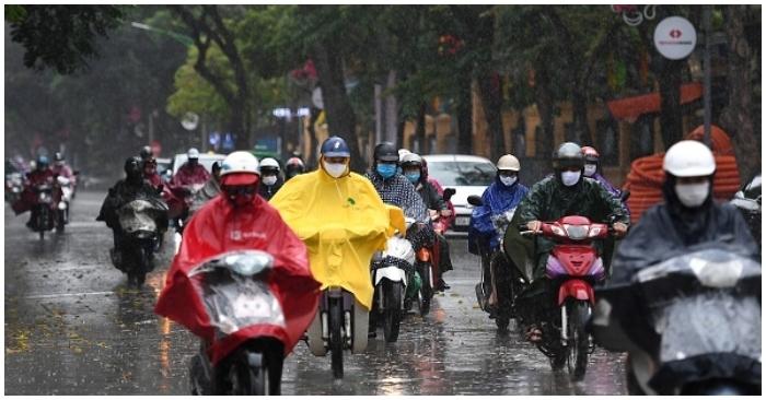 Dự báo thời tiết ngày 26/6: Bắc Bộ mưa rào, Trung Bộ tiếp tục nắng nóng có nơi trên 38 độ