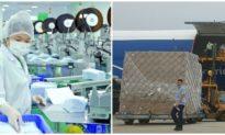 Việt Nam xuất khẩu thêm 30 triệu chiếc khẩu trang y tế đi Bắc Mỹ