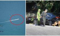 Dừng bay flycam trong việc truy bắt đối tượng vượt ngục ở rừng Hải Vân