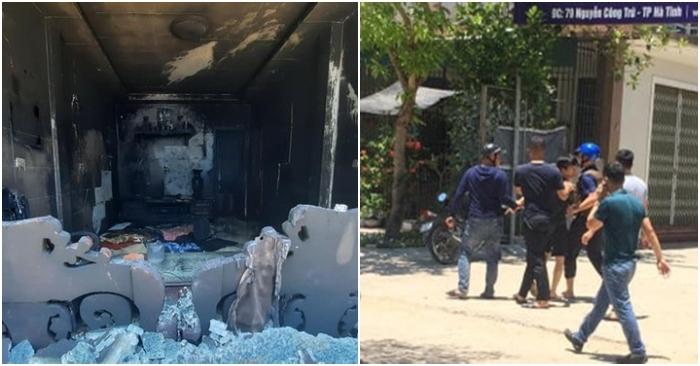 Người đàn ông bất ngờ tưới xăng đốt nhà mẹ vợ cũ, 4 người may mắn thoát nạn