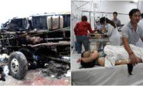 Vụ xe tải lớn lao thẳng vào chợ làm 5 người chết: Tạm giữ tài xế xe tải