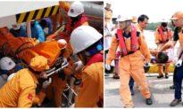 Đã tìm thấy thi thể 4 thuyền viên mất tích sau vụ chìm tàu cá