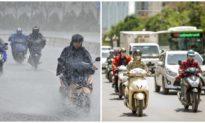 Dự báo thời tiết ngày 15/6: Trung Bộ nắng nóng kéo dài, Bắc Bộ mưa lớn