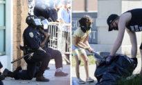 Trong bạo loạn vẫn không quên tinh thần Mỹ: Cảnh sát quỳ gối xin lỗi, cư dân cùng nhau dọn dẹp đường phố