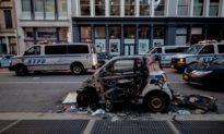 Gần 300 cảnh sát New York bị thương trong các cuộc biểu tình ủng hộ George Floyd