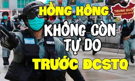 Mỹ nói Hồng Kông không còn tự do trước Đảng Cộng Sản Trung Quốc