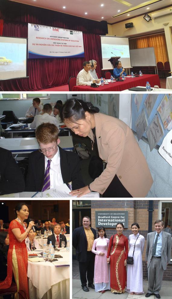 Phó Giáo sư - Tiến sĩ Giáo dục học Nguyễn Thị Lan Phương, Phó Giám đốc Phụ trách Trung tâm Nghiên cứu Đánh giá giáo dục - Viện Khoa học Giáo dục