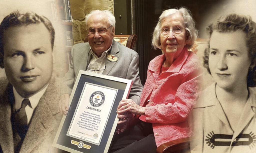 Cặp vợ chồng đạt kỷ lục Guinness về hôn nhân lâu dài nhất thế giới
