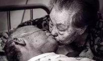 Nụ hôn tạo nên kỳ tích: Xúc động cảnh vợ đưa chồng qua cơn nguy kịch