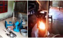 Đồ vật trong nhà một hộ dân Cà Mau tự phát cháy, nổ chưa rõ nguyên nhân