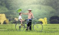 Tình yêu của người cha đem lại sức khỏe vượt trội cho trẻ