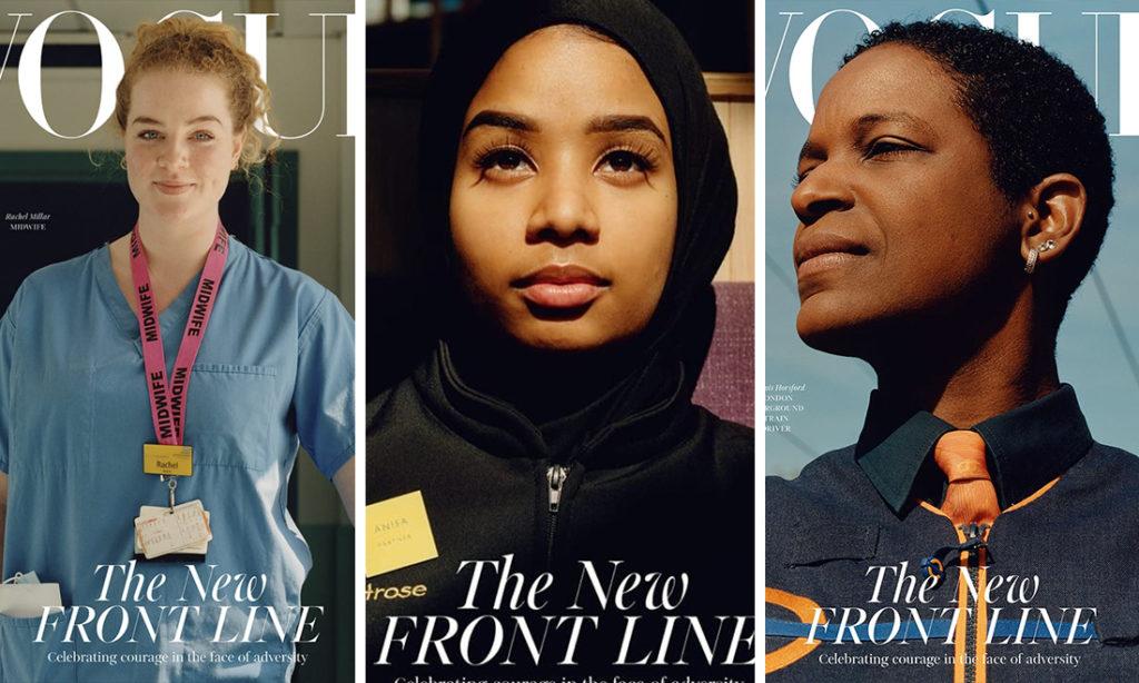 Hy hữu: Tạp chí Vogue để trang bìa là hình ảnh 3 người đặc biệt thay lời tri ân