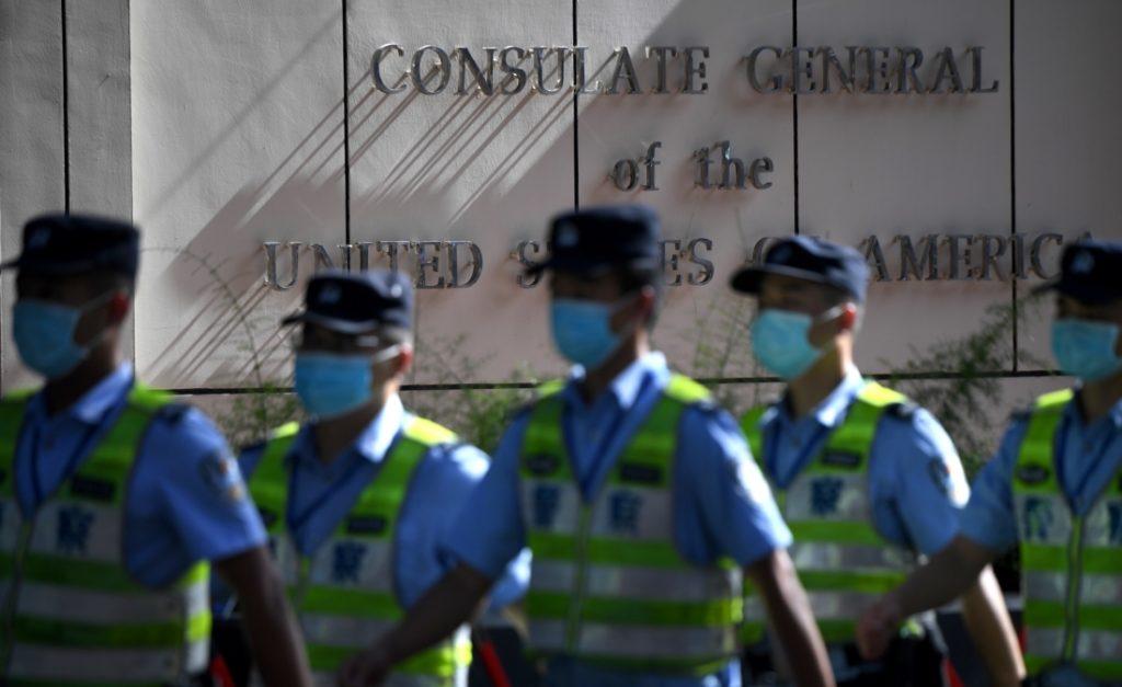 Lãnh sự quán Hoa Kỳ tại Thành Đô đóng cửa dưới sự giám sát chặt chẽ của truyền thông nhà nước Trung Quốc