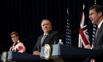 Úc và Mỹ thảo luận về tham vọng của ĐCS Trung Quốc