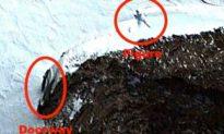 Mới phát hiện người ngoài hành tinh khổng lồ tại Nam Cực bên cạnh lối vào một hang động lớn