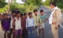 10 đứa trẻ Ấn Độ tay không đi tới biên giới đòi 'dạy cho Trung Quốc bài học'