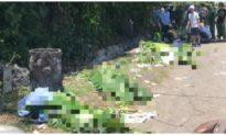 Lật ô tô 45 chỗ chở cựu học sinh tham quan Phong Nha – Kẻ Bàng, 13 người chết