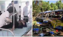 Xe khách chở 38 người lao xuống vực ở Kon Tum, ít nhất 7 người chết