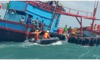 Đã xác định được tàu hàng đâm chìm tàu câu mực, bỏ mặc 6 ngư dân