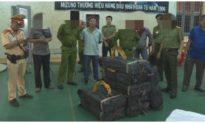Nổ súng truy bắt 2 thanh niên vận chuyển 200 kg ma túy đá