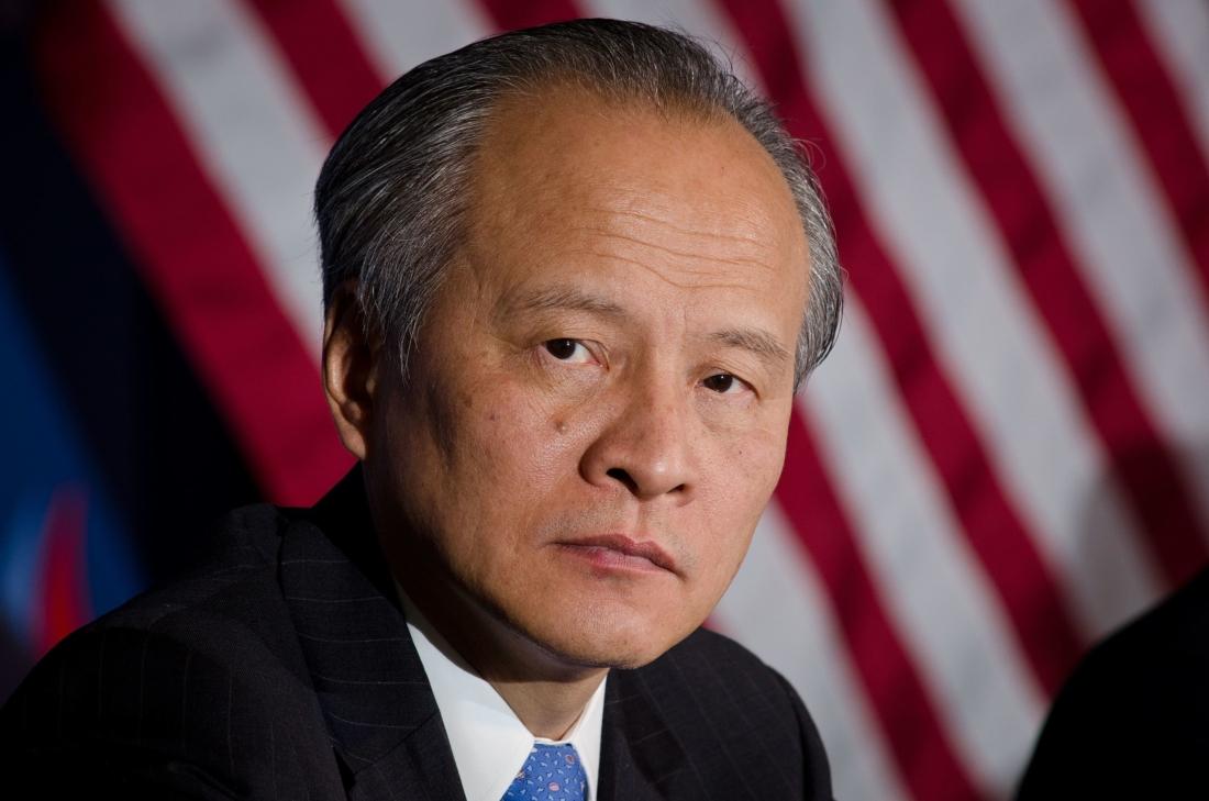 Đại sứ Trung Quốc tại Hoa Kỳ là Thôi Thiên Khải