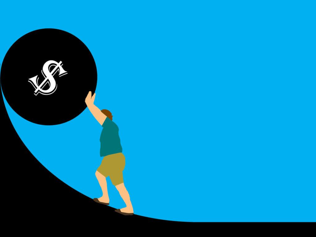 Cơ cấu cho vay và đi vay đã tạo thành việc thời gian giữa các chu kỳ khủng hoảng nợ ngày càng ngắn hơn do số nợ tích lũy ngày càng khổng lồ, cũng là thời cơ để các ngân hàng thâu tóm tài sản của cá nhân và doanh nghiệp, đồng thời là dịp để chính phủ có thể mở rộng bàn tay quyền lực của mình vào nền kinh tế. (Pixabay)