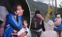 Trốn khỏi Peru vì virus, người mẹ cùng 3 đứa con nhỏ lết bộ gần 500 km