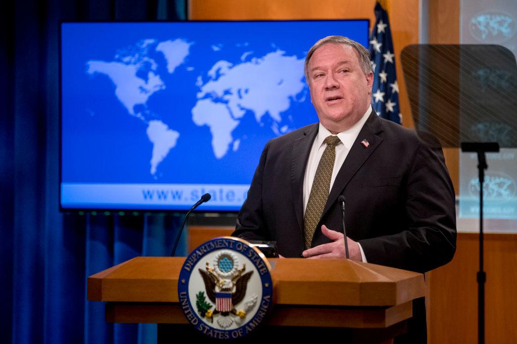 """Ngoại trưởng Hoa Kỳ Pompeo từng nói: """"Hoa Kỳ từ lâu đã rất coi trọng tình hữu nghị với người dân Trung Quốc, nhưng ĐCSTQ không phải là nhân dân Trung Quốc."""