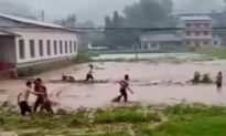 Hồ Nam, Trung Quốc: Lũ quét sập tường trường học, học sinh bị nước cuốn trôi