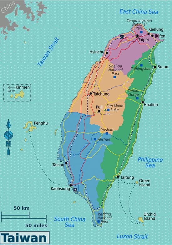 Đài Loan trông giống một con ngao vàng giữa biển. Sau thời cha con Tưởng Giới Thạch trị vì, Đài Loan đã bước vào thời kỳ rất giàu có.
