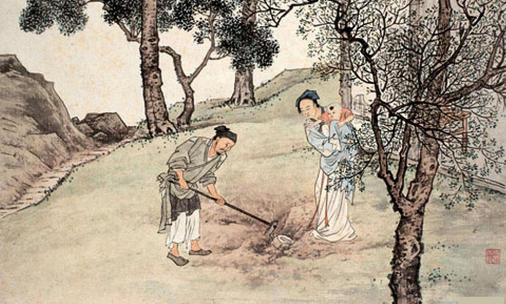24 tấm gương hiếu hạnh xưa (P-8): Quách Cự chôn con