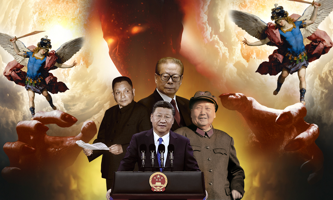 """ĐCSTQ không phải là một chính quyền được bầu lên bởi người dân Trung Quốc, nó là một thể chế độc tài được sinh ra từ bạo lực """"cướp chính quyền""""."""