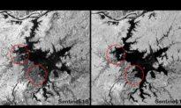 Lũ lụt mưa bão khiến hồ Bà Dương 'kéo dài', trở thành hồ lớn nhất Trung Quốc, vượt qua hồ Thanh Hải