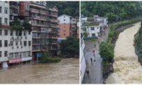 Lũ lụt Trung Quốc: Dân Trùng Khánh được lệnh sẵn sàng sơ tán