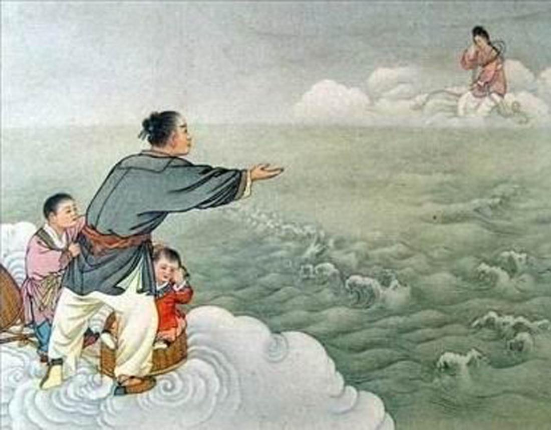 """Ngưu Lang và Chức Nữ đã được đích thân Tây Vương Mẫu chỉ định là """"ngày 7 tháng 7"""""""