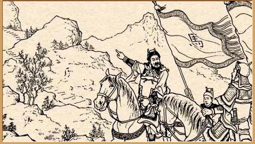 Vương Bình khuyên Mã Tốc bố trí binh lính cạnh núi gần sông.