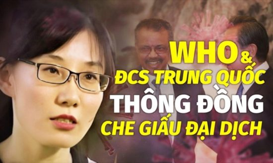 Tiến sĩ virus học Trung Quốc tiết lộ: WHO thông đồng với ĐCS Trung Quốc che giấu đại dịch Covid-19