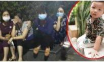 Truy tìm người phụ nữ áo trắng nghi bắt cóc bé trai 2 tuổi tại công viên Bắc Ninh