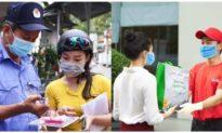Đà Nẵng tiếp tục phát thẻ đi chợ nhằm giãn cách xã hội