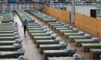 Bệnh viện giường carton chống virus lớn nhất thế giới ở Ấn Độ