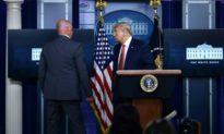 Súng nổ ngoài Nhà Trắng, Tổng thống Trump dừng họp báo