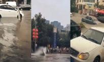 Lũ kéo về phía bắc, Bắc Kinh và Thiên Tân đã có thể 'ngắm biển'