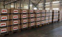 Trung Quốc viện trợ khẩu trang y tế cho Việt Nam