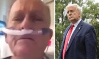 Quân nhân sắp qua đời gửi lời trăng trối tới Tổng thống Trump